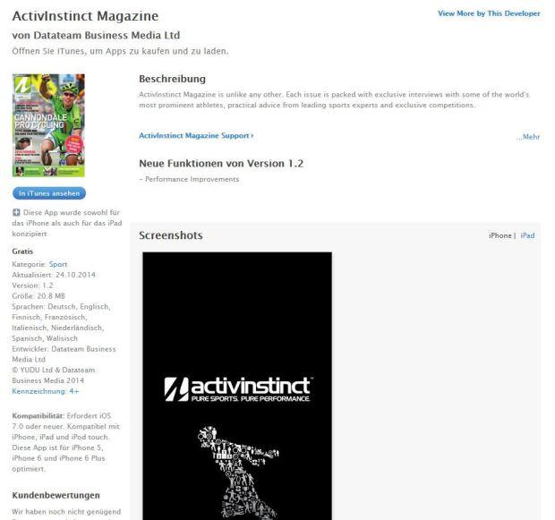 Activinstinct App