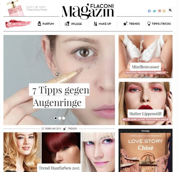 Flaconi Magazin