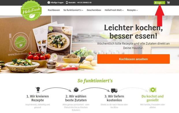 hellofresh gutscheine gutscheincodes f r januar 2019. Black Bedroom Furniture Sets. Home Design Ideas