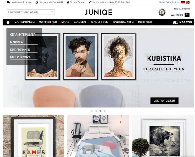 Junique Onlineshop