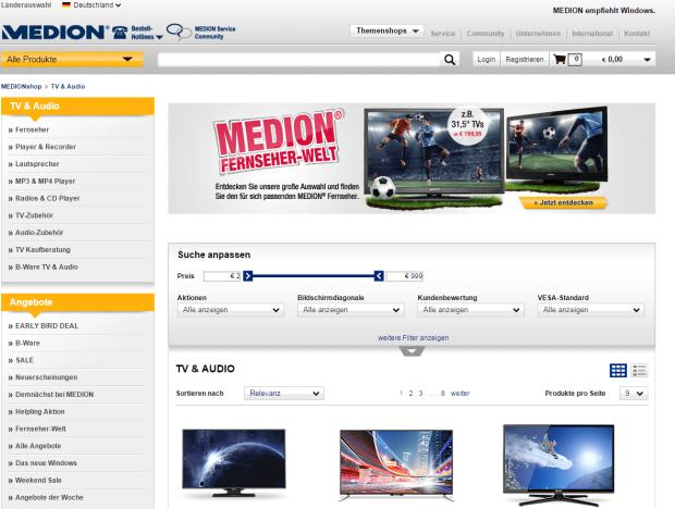 Medion_Onlineshop