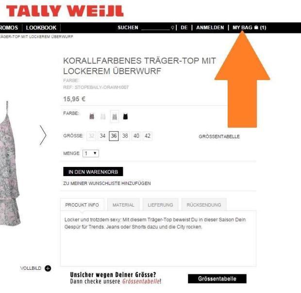 Tally Weijl Gutschein Einlösen #3