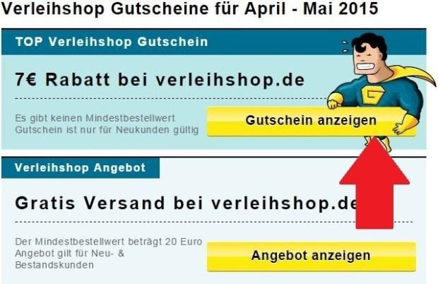 Verleihshop Gutscheine Gutscheincodes Für Juni 2019